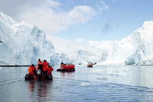 Luxuskreuzfahrt ins ewige Eis