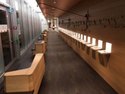 Eine luftige Zonen-Einteilung prägt das Bild der neuen Lounges.