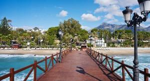 Der Marbella Club liegt direkt am Meer, im Herzen der Goldenden Meile.