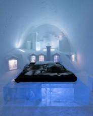 Icehotel 2014. Foto: Christopher Hauser. Künstler: Voisin und Mathieu Brison